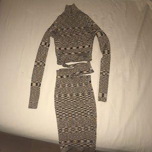 Fashion Nova Hera Cut Out Sweater Dress